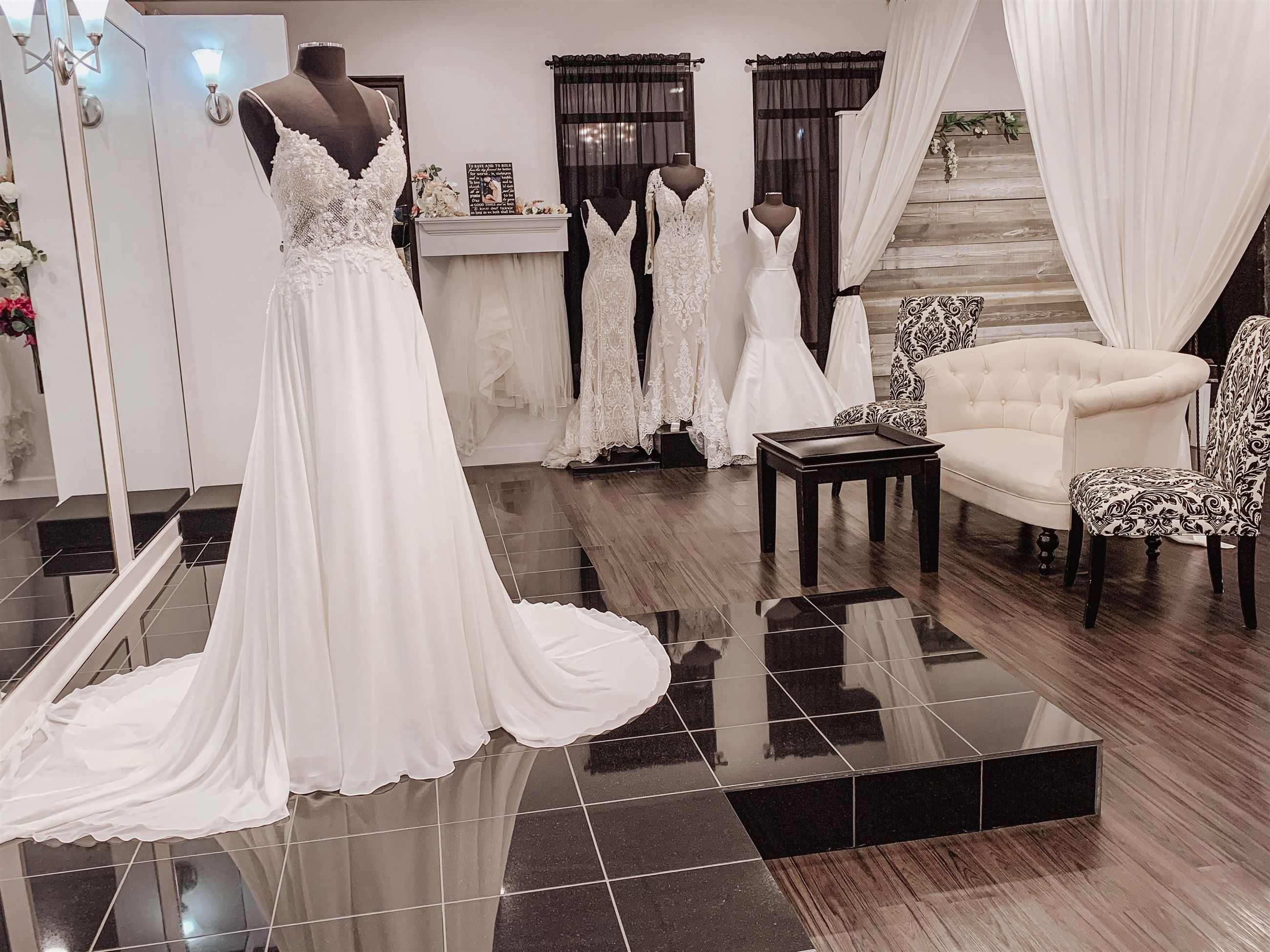 About us allure bridal store image
